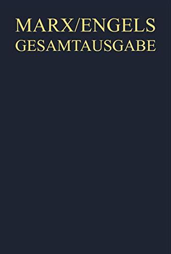 9783050033983: Karl Marx: Exzerpte Und Notizen, Sommer 1844 Bis Anfang 1847