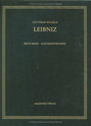 Sämtliche Schriften und Briefe. Allgemeiner politischer und historischer Briefwechsel Band 18....