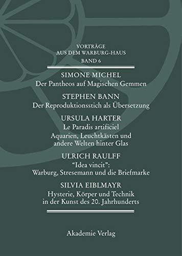 9783050037684: Vorträge aus dem Warburg- Haus 6.