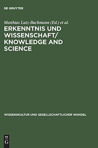 Erkenntnis und Wissenschaft: Probleme der Epistemologie in der Philosophie des Mittelalters; ...