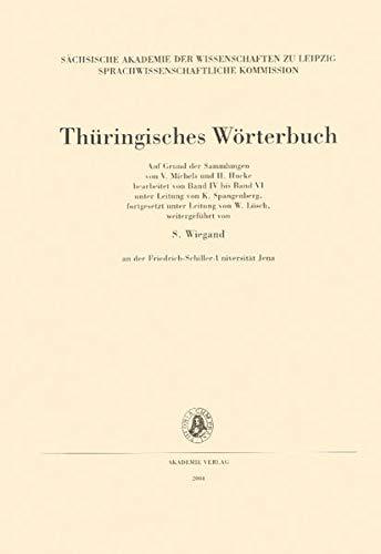 9783050041889: Thüringisches Wörterbuch, Bd.3 : 5. Lieferung (Kohlsack kutzeln): BD III /Lfg 5