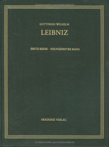 Sämtliche Schriften und Briefe Band 19. Allgemeiner politischer und historischer Briefwechsel ...