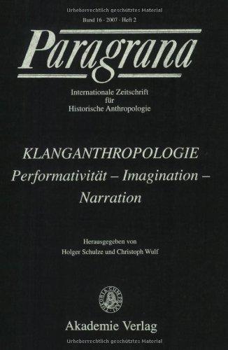 9783050043654: Klanganthropologie