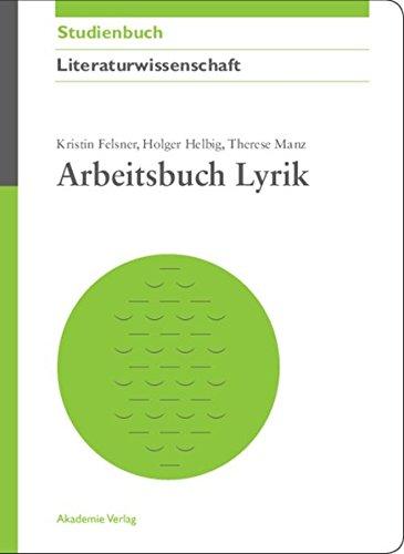 9783050044347: Arbeitsbuch Lyrik