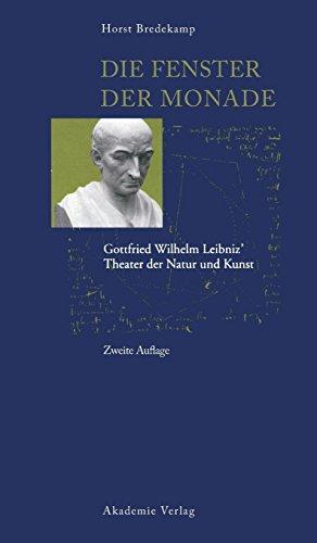 9783050044910: Die Fenster Der Monade (ACTA Humaniora) (German Edition)