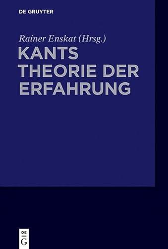 9783050050935: Kants Theorie der Erfahrung