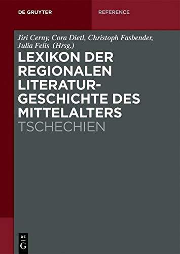 9783050051321: Lexikon der regionalen Literaturgeschichte des Mittelalters: Tschechien