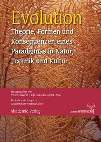 Evolution: Volker Gerhardt