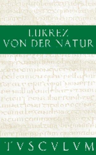 9783050053929: Von der Natur / De rerum natura: Lateinisch - Deutsch