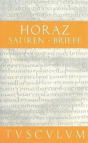 Satiren / Sermones / Briefe / Epistulae: Horaz