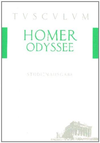 9783050055145: Odyssee: Auswahlausgabe. Griechisch - Deutsch