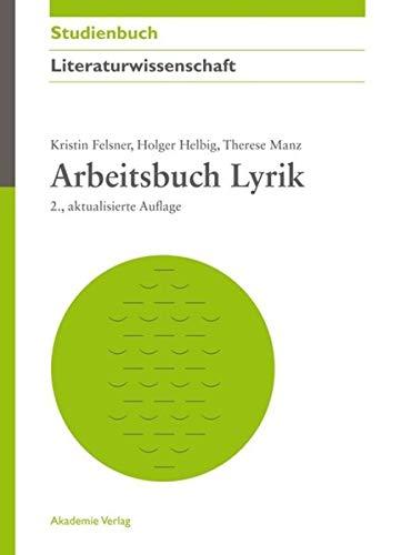 9783050059099: Arbeitsbuch Lyrik
