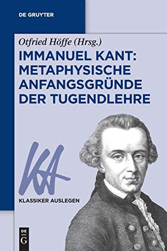 9783050060828: Kant: Tugendlehre (Klassiker Auslegen)