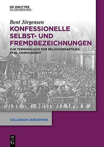 Konfessionelle Selbst- und Fremdbezeichnungen: Bent Jörgensen