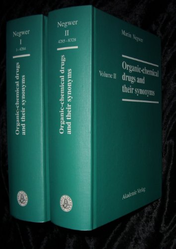 9783055016295: Organic-chemical Drugs and Their Synonyms: An International Survey