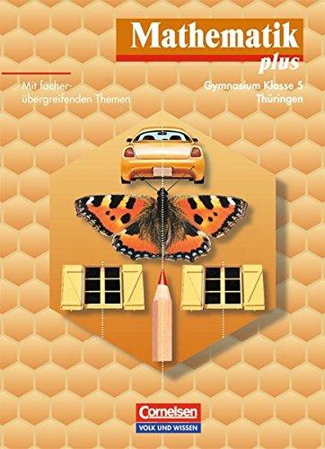 9783060005512: Mathematik plus, EURO, Lehrbuch, Ausgabe Gymnasium Thüringen