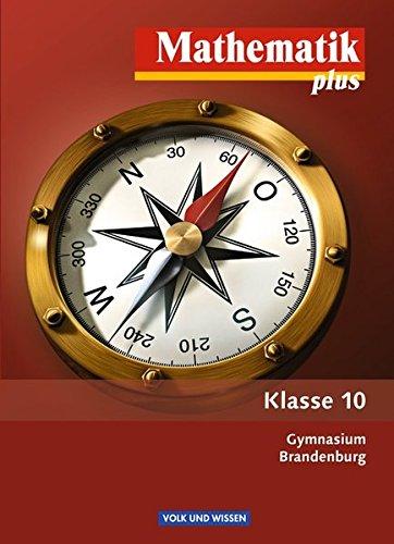 9783060006311: Mathematik plus 10. Schuljahr. Schülerbuch. Gymnasium Brandenburg