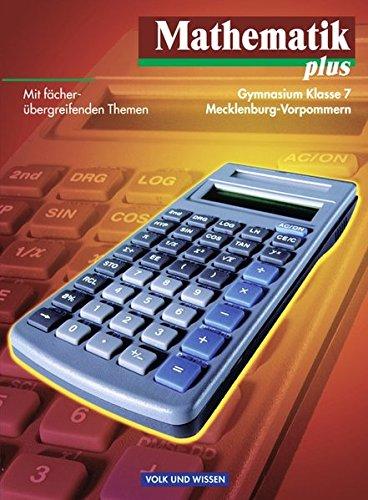 9783060007554: Mathematik plus 7. Lehrbuch. Mecklenburg-Vorpommern: Gymnasium
