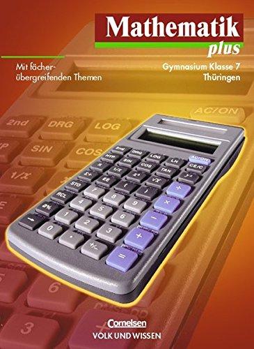 9783060007585: Mathematik plus 7. Lehrbuch. Thüringen. Euro-Ausgabe