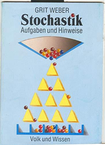 9783060009176: Stochastik. Hinweise und Aufgaben, Klasse 9/10