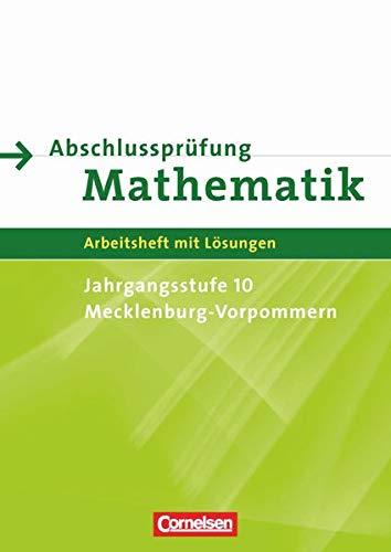 9783060019007: Abschlussprüfung Mathematik Sekundarstufe I. Mecklenburg-Vorpommern. Arbeitsheft