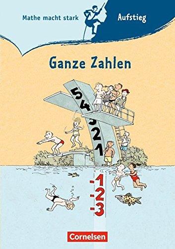 9783060048625: Mathe macht stark 7./8. Schuljahr. Ganze Zahlen: Aufstieg-Gipfel-Heft