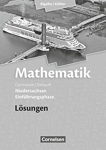 9783060059034: Mathematik Sekundarstufe II - Niedersachsen. Einführungsphase - Lösungen zum Schülerbuch