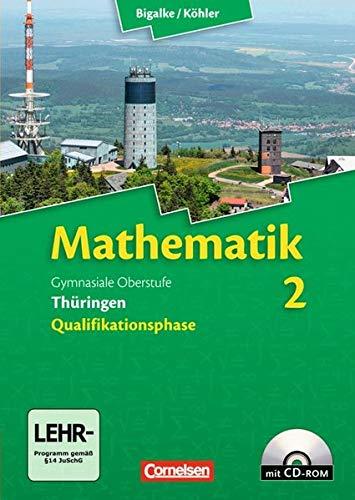 9783060059256: Mathematik Sekundarstufe II 12. Schuljahr. Schülerbuch mit CD-ROM. Thüringen