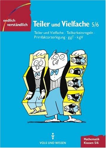 9783060060047: Endlich verständlich - Mathematik, EURO, Teiler und Vielfache, Klassen 5/6