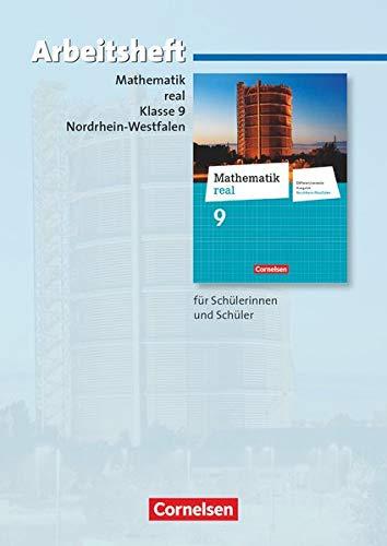 9783060065714: Mathematik real 9. Schuljahr. Arbeitsheft mit eingelegten Lösungen. Differenzierende Ausgabe Nordrhein-Westfalen