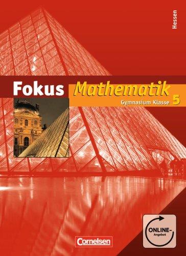 9783060066186: Fokus Mathematik - Gymnasium Hessen: Fokus Mathematik 5. Schuljahr. Schulerbuch Gymnasium Hessen