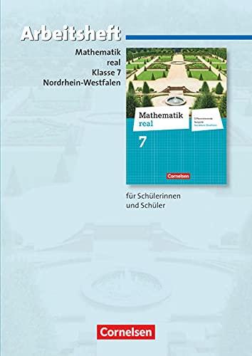 9783060066940: Mathematik real 7. Schuljahr. Arbeitsheft mit eingelegten Lösungen. Differenzierende Ausgabe Nordrhein-Westfalen