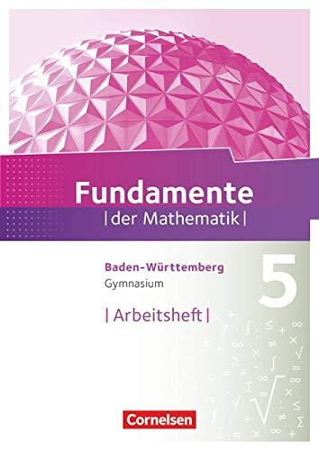 9783060068661: Fundamente der Mathematik 5. Schuljahr. Arbeitsheft mit Lösungen. Gymnasium Baden-Württemberg