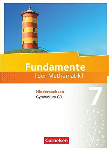 9783060080076: Fundamente der Mathematik 7. Schuljahr. Schülerbuch Gymnasium Niedersachsen