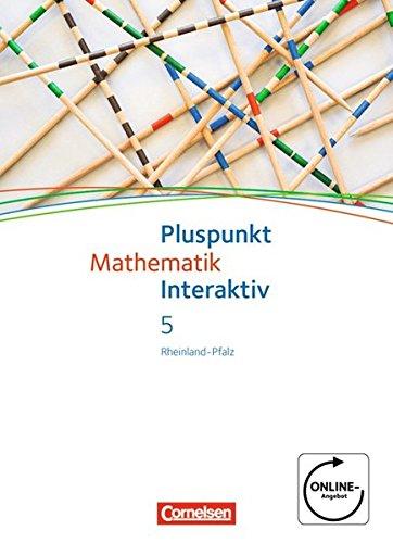 9783060084777: Pluspunkt Mathematik interaktiv 5. Schuljahr. Sch�lerbuch Realschule Plus Rheinland-Pfalz