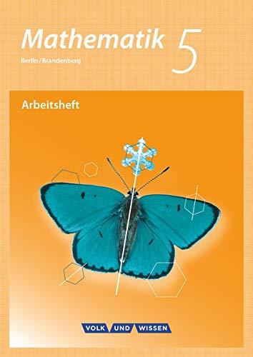 9783060085033: Mathematik 5. Schuljahr. Arbeitsheft mit eingelegten Lösungen. Grundschule Berlin/Brandenburg