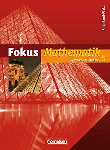 9783060087754: Fokus Mathematik. 5. Jahrgangsstufe. Schülerbuch. Gymnasium Rheinland-Pfalz