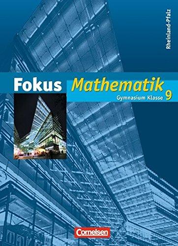 Fokus Mathematik - Gymnasium Rheinland-Pfalz: 9. Schuljahr: Bischof, Ina, Christmann,