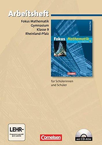 Fokus Mathematik - Gymnasium Rheinland-Pfalz: 9. Schuljahr