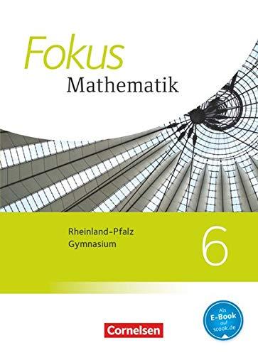 9783060088102: Fokus Mathematik 6. Schuljahr. Schülerbuch Gymnasium Rheinland-Pfalz
