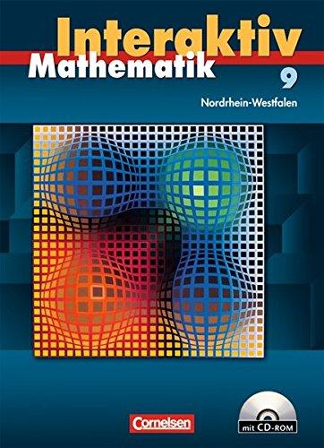 9783060088904: Mathematik interaktiv 9. Schuljahr. Schülerbuch mit CD-ROM. Nordrhein-Westfalen