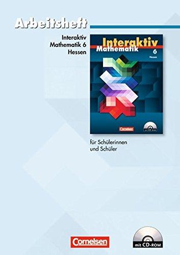9783060089918: Mathematik interaktiv - Hessen: Mathematik interaktiv 6. Schuljahr. Arbeitsheft. Hessen