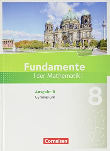 9783060092352: Fundamente der Mathematik 8. Schuljahr. Schülerbuch Gymnasium Brandenburg