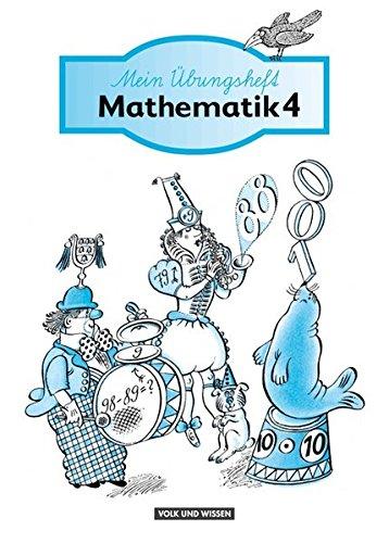 9783060094059: Mein Mathematikbuch 3/4. Übungsheft 4. Sonderschule