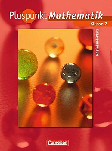 9783060097173: Pluspunkt Mathematik 7. Schuljahr. Schülerbuch. Regionale Schule Rheinland-Pfalz