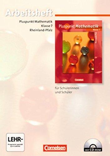 9783060097272: Pluspunkt Mathematik 7. Schuljahr. Arbeitsheft. Regionale Schule Rheinland-Pfalz