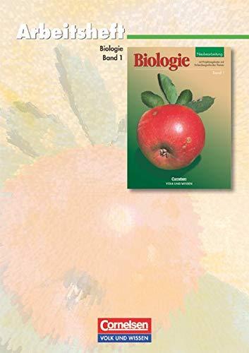 9783060105359: Biologie Band 1, Neubearbeitung 2002, Arbeitsheft