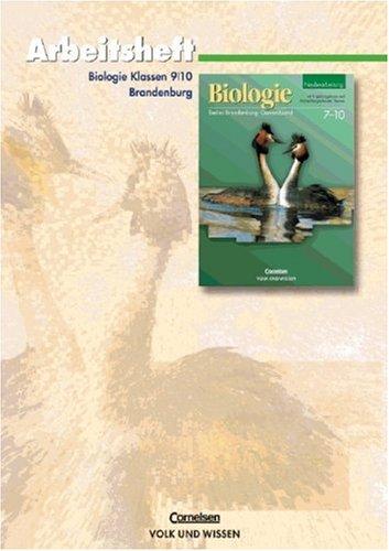 9783060109494: Biologie Gesamtband. Arbeitsheft. Klassen 9 - 10. Neubearbeitung. Berlin, Brandenburg. (Lernmaterialien)