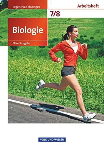 9783060112692: Biologie 7./8. Schuljahr. Arbeitsheft Regelschule Th�ringen