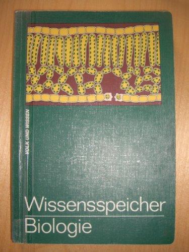 Wissensspeicher Biologie: Das Wichtigste in Stichworten und: Dietrich, G., R.